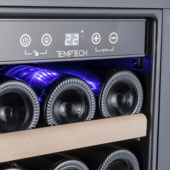 Temptech Premium WP2DQ60DCB Vīna Skapis