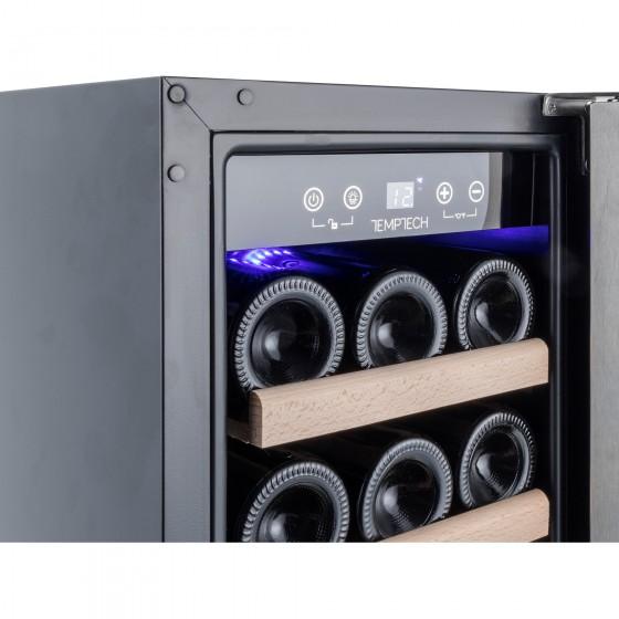 Temptech Premium WPQ30SCB Vīna Skapis